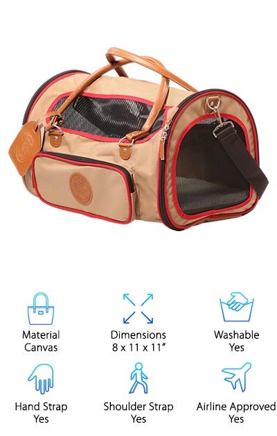 5ad79663a6722a915dd6dd27 Best Designer Dog Carriers 8